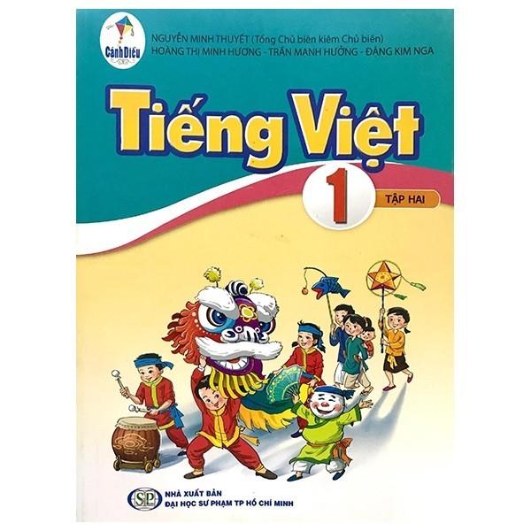 Sách Tiếng Việt Lớp 1 - Tập 2 (Bộ Sách Cánh Diều)