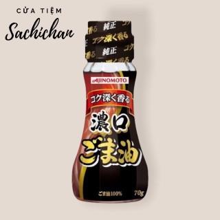 [Mẫu mới] Dầu mè ăn dặm Ajinomoto 50gr Nhật Bản HSD2022 thumbnail