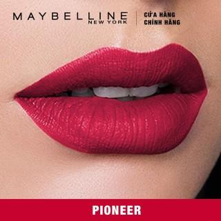 [HCM]Maybelline - Son kem chuẩn lì giữ màu 16h Maybelline Super Stay Matte Ink 5ml thumbnail