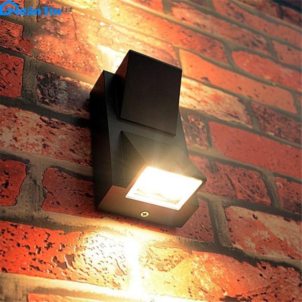 Đèn Led treo tường gắn tường ngoài trời trong nhà Led 10W VNT613 Ngân Tín