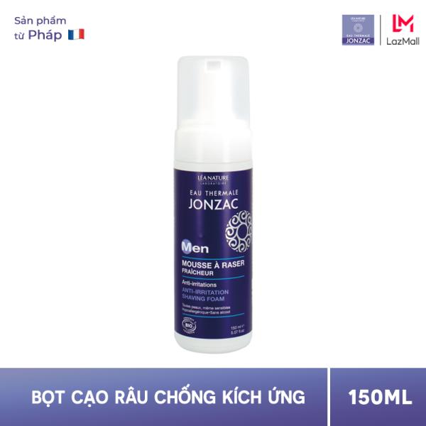 Bọt Cạo Râu Dịu Nhẹ Chống Kích Ứng - Eau Thermale Jonzac Men Mousse A Raser Fraicheur 150ml giá rẻ