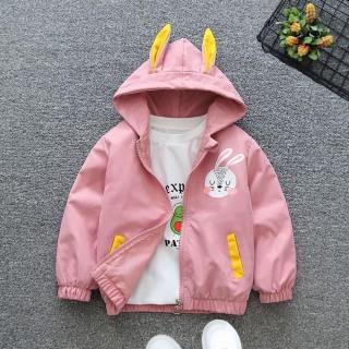 HÀNG MỚI VỀ Áo khoác tai thỏ cho bé trai bé gái, áo khoác gió 2 lớp cho bé, áo khoác cho bé, ao khoac cho be, áo khoác tai thỏ cho bé 7kg đến 32kg thumbnail
