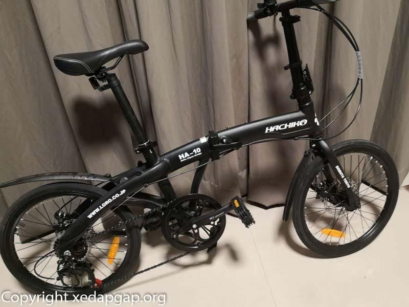 Phân phối Xe đạp gấp nhật bản hachiko ha01 và ha04