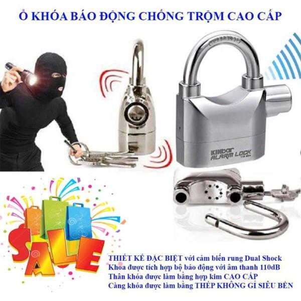 [HCM]KHÓA ĐĨA CHỐNG TRỘM KINBAR ALARM LOCK Khóa đĩa cao cấp xe máy chống trộm Kinbar Alarm Lock .