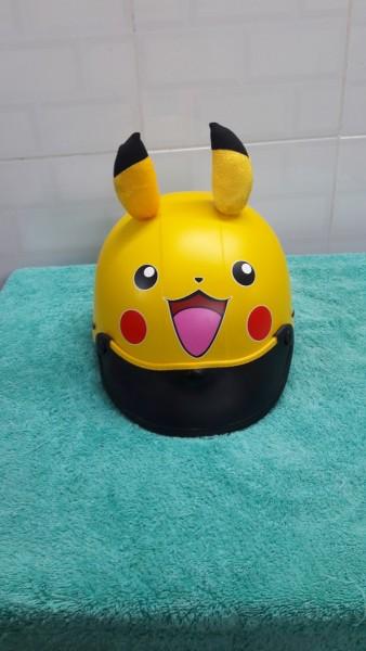 Giá bán nón bảo hiểm picachu trẻ em và người lớn siêu dể thương
