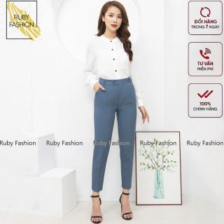 Quần tây nữ Ruby Fashion chất vải cao cấp 3 màu, âu công sở mặc tôn dáng thumbnail