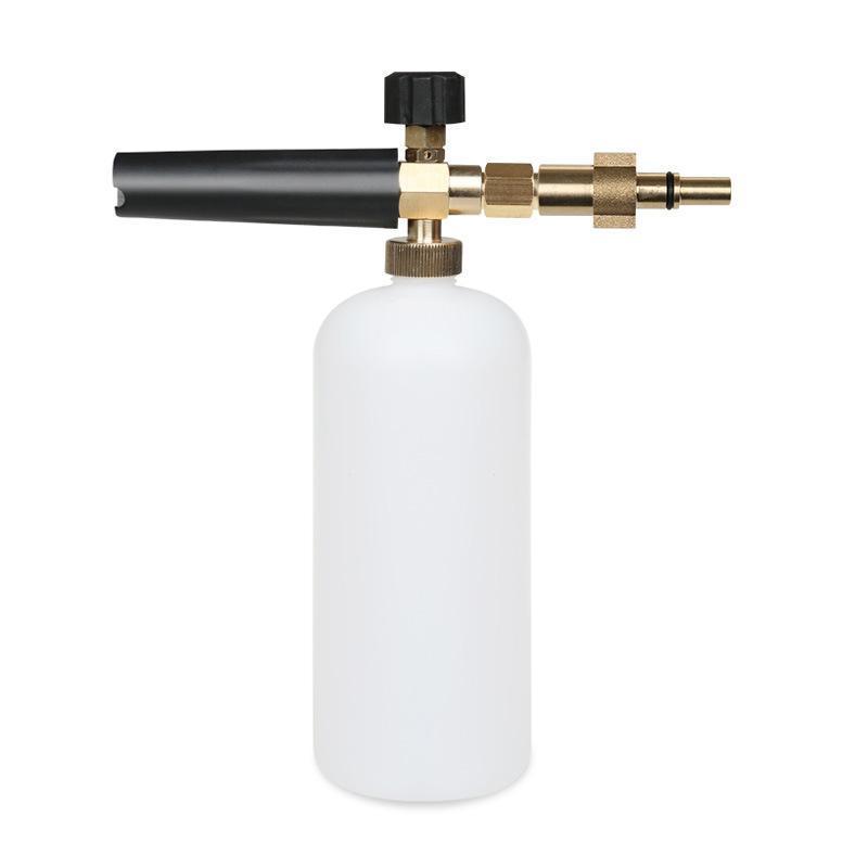 Bình xà phòng phun bọt tuyết dùng cho máy bơm xịt rửa ô tô, xe máy cho máy rửa xe (đầu S4 như hình)