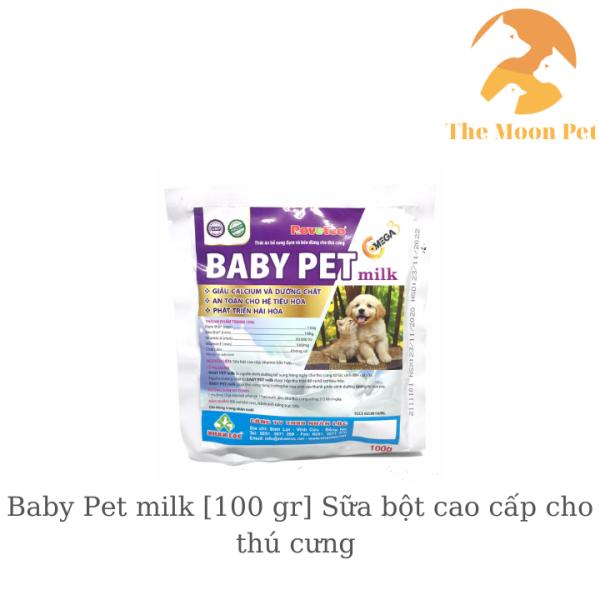 Baby Pet milk [100 gr] Sữa bột cao cấp cho thú cưng
