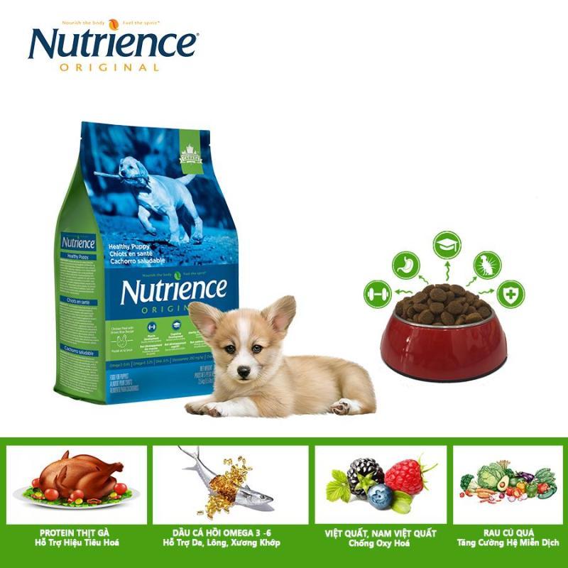 Thức Ăn Cho Chó Con Khỏe Mạnh Nutrience Original - Thịt Gà. Rau Củ Và Trái Cây Tự Nhiên