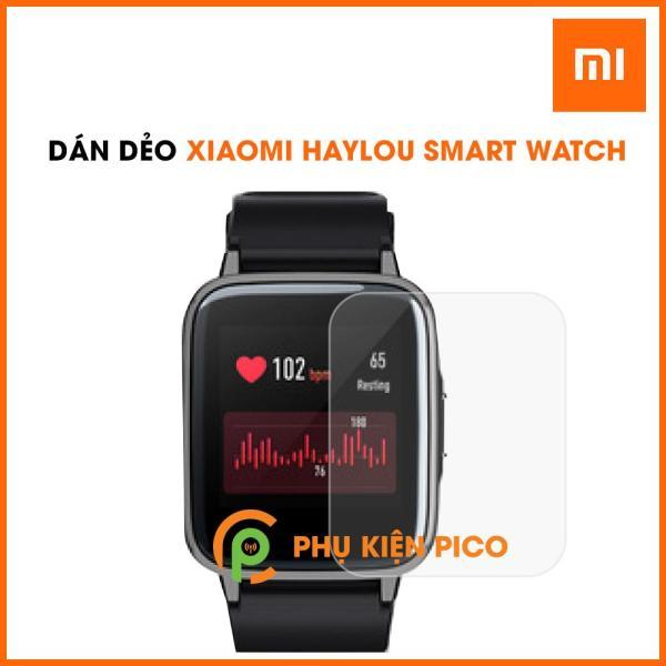 Dán màn hình Xiaomi Haylou Smart Watch PPF cao cấp dẻo trong suốt bộ 2 cái