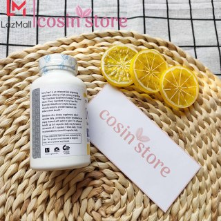 Viên uống Ivory Caps Glutathione Skin Enhancement Formula 60 viên hỗ trợ trắng da giảm nám, tàn nhang Triple Strength Formula Glutathione Complex 1500 mg 3