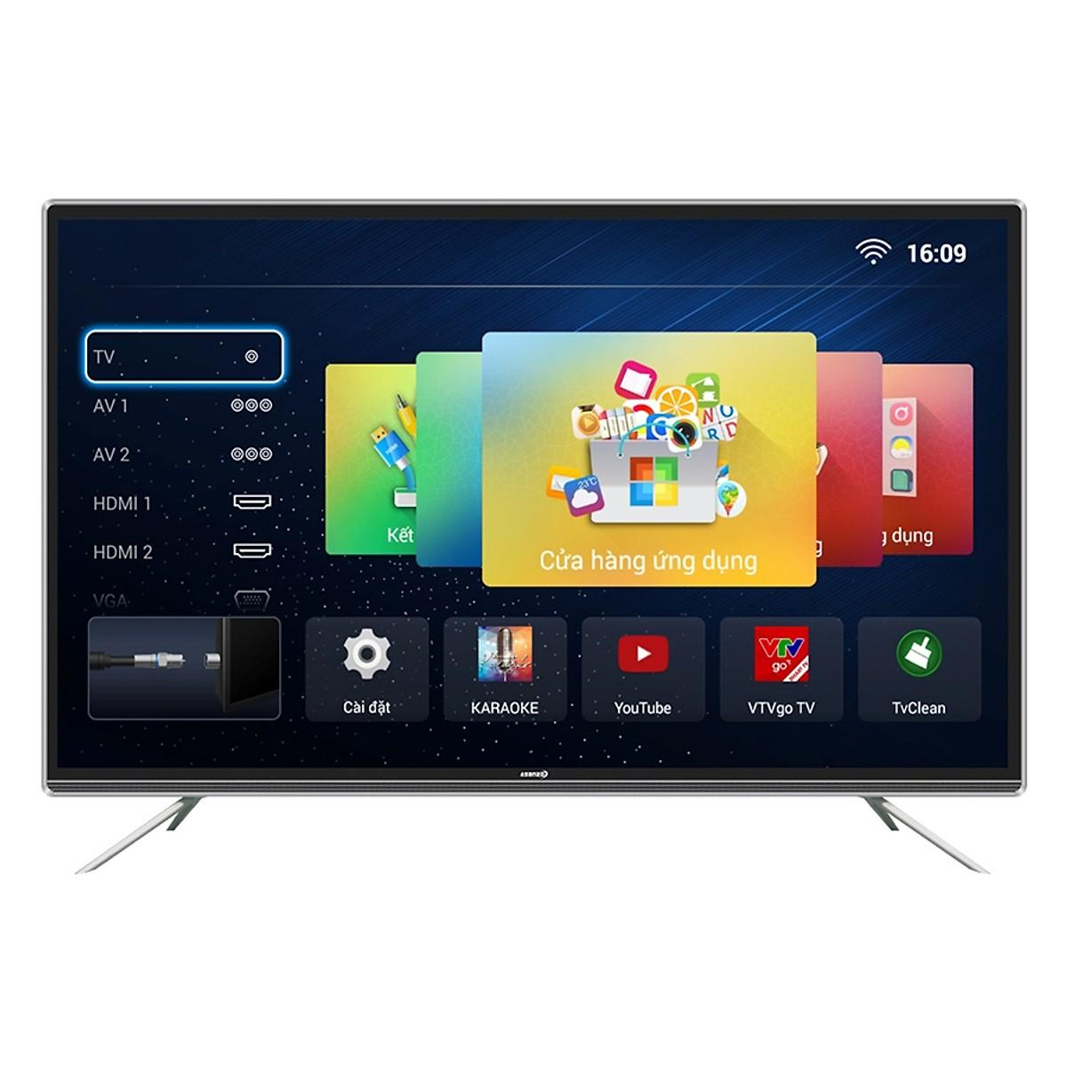 Bảng giá Smart Tivi LED Asanzo 55 inch 55AG800