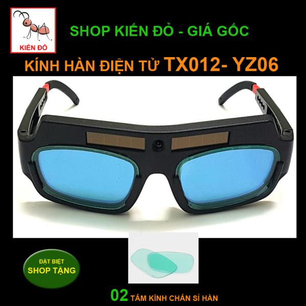 Kính hàn điện tử TX-012 tặng hộp đựng kính chống trầy