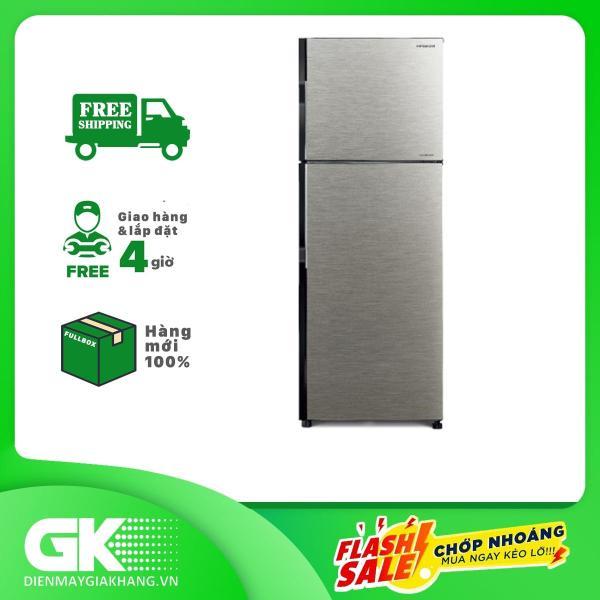 TRẢ GÓP 0% - Tủ lạnh Hitachi Inverter 230 lít R-H230PGV7 BSL- Bảo hành 12 tháng