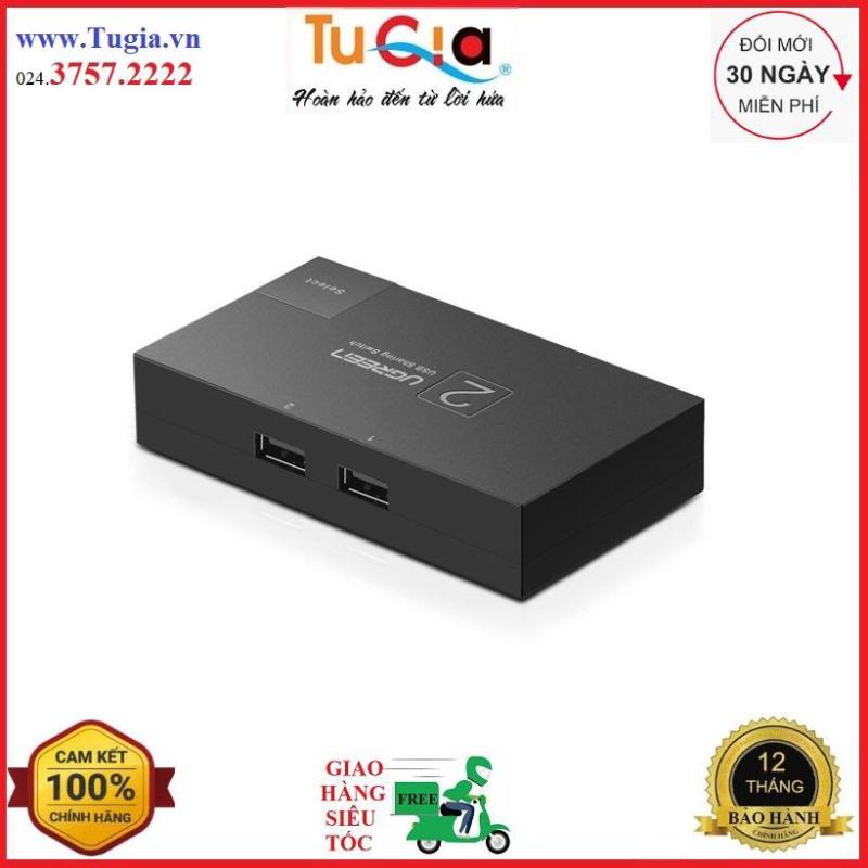 Bảng giá Bộ chia USB 2 máy tính dùng chung 1 máy in Ugreen 30345 - hàng chính hãng Phong Vũ