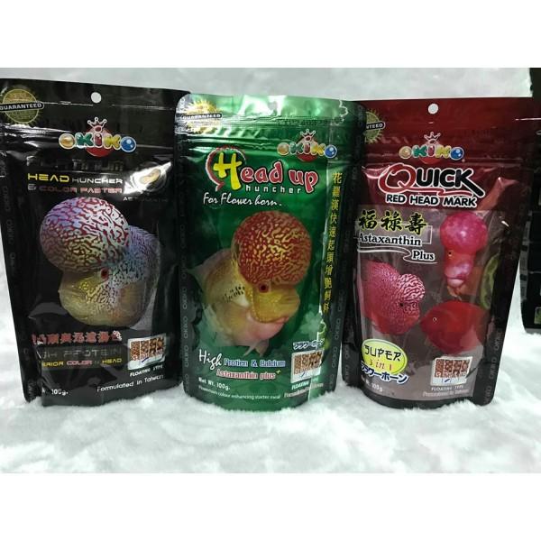 Thức ăn cho la ha hán Okiko (tăng màutăng đầu) - Headup, cam kết hàng đúng mô tả, chất lượng đảm bảo