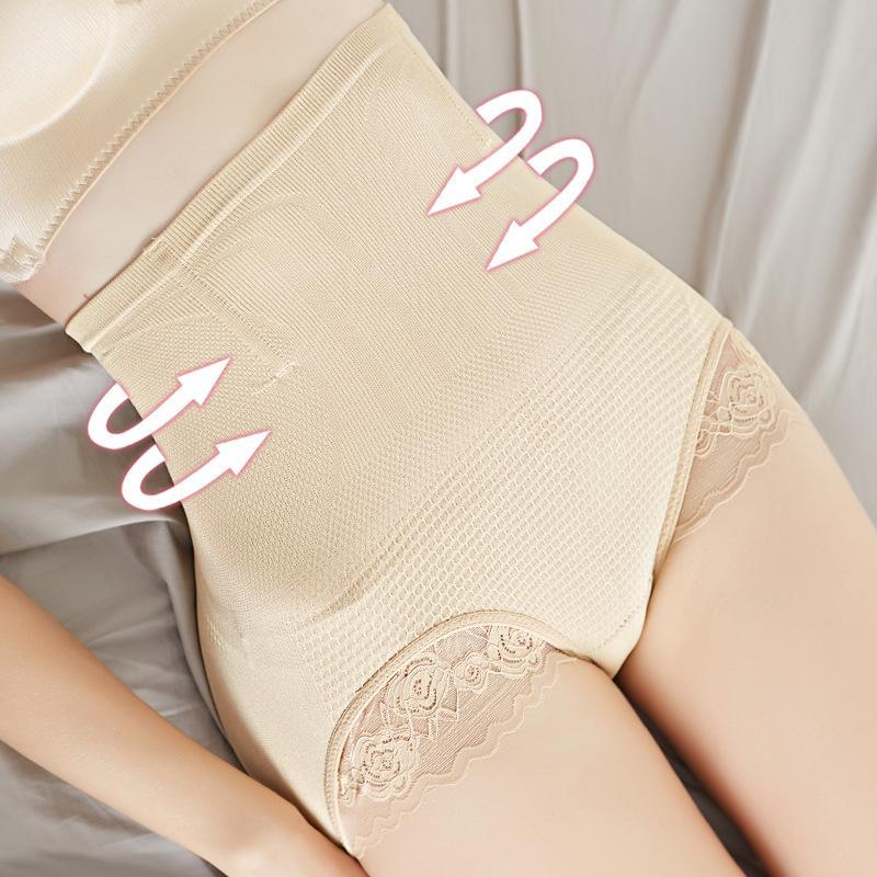 Gen bụng chống cuộn nâng mông viền ren mẫu mới-QL9