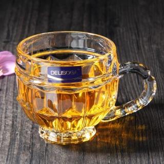 Bộ 6 Ly Thủy Tinh Bầu Lùn Uống Trà, Bộ ly uống trà cao cấp- 6 Cốc Thuỷ Tinh Uống Trà Cao Cấp- Bộ 6 ly Lùn Uống Trà, ly thuỷ tinh trong suốt cao cấp thumbnail
