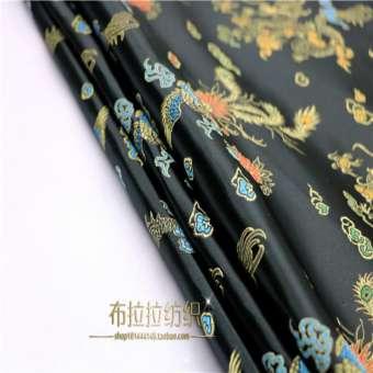 ชุดโบราณชุดจีนแบบดั้งเดิมชุดราตรีเสื้อผ้าสำหรับตุ๊กตาชุดกิโมโนผ้า COS เสื้อผ้ากี่เพ้าเนื้อผ้าผ้าไหม-บูติกมังกรและนกฟีนิกซ์หกสี