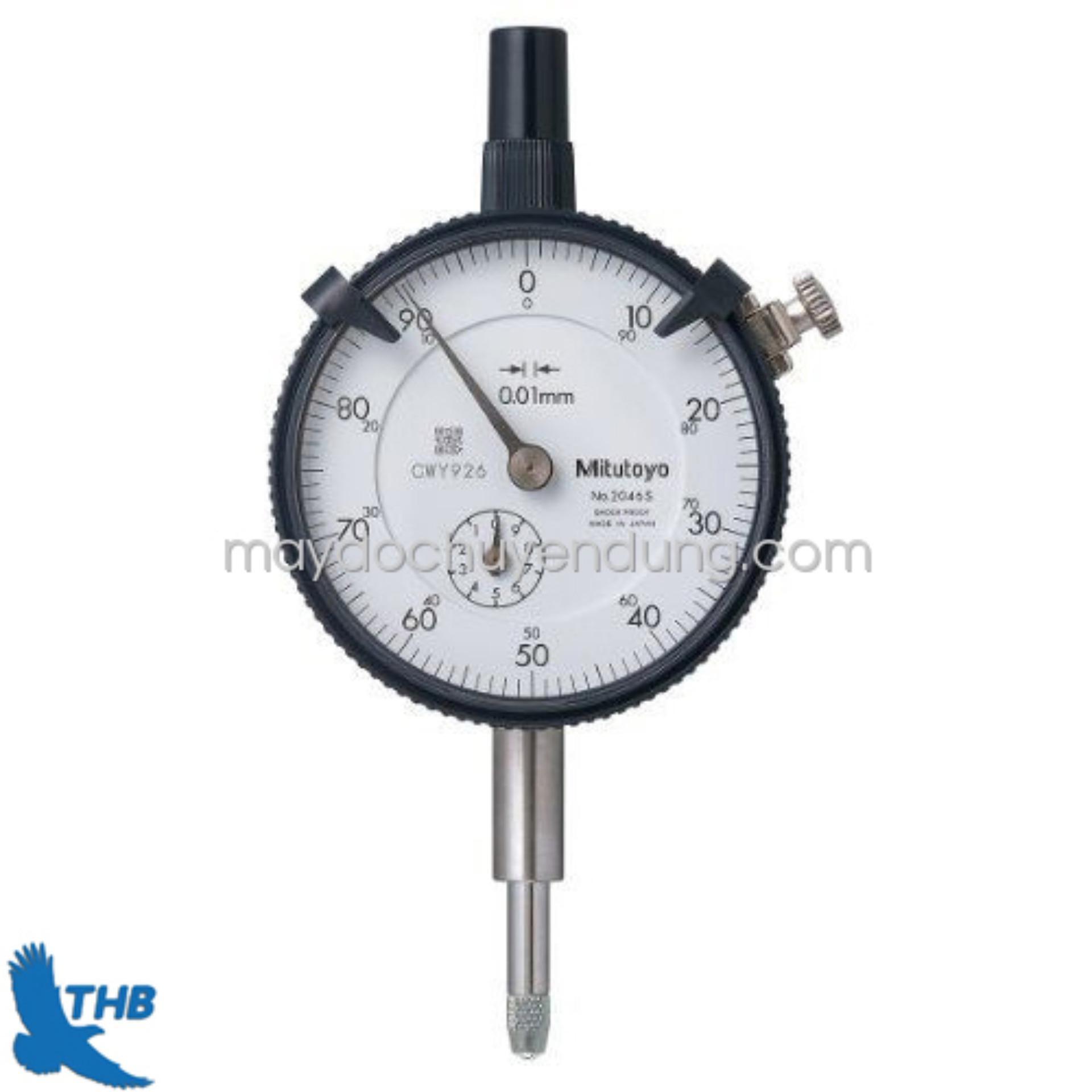 Đồng hồ so cơ dải đo 0-10mm/0.01 Mitutoyo 2046S
