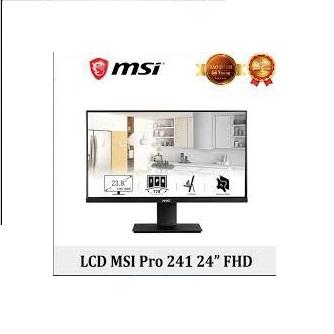 Màn hình máy tính MSI PRO MP241 23.8 inch FHD IPS 60Hz