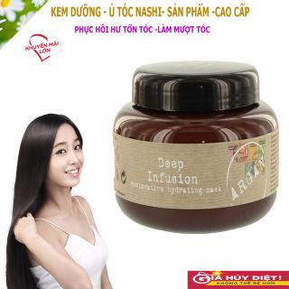 Hấp Dầu,Ủ Tóc, Kem Dưỡng Tóc. nashi giúp dưỡng tóc phục hồi hư tổn, làm tóc bóng, mềm giảm xơ rối, thumbnail