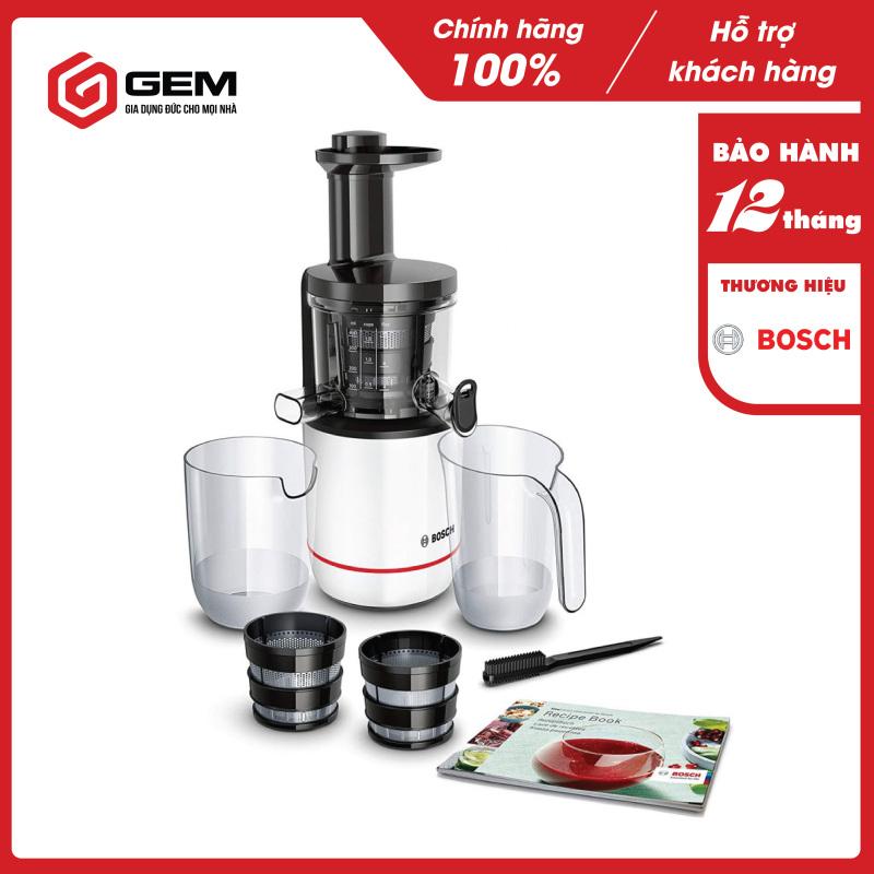 Máy ép chậm Bosch Comfort MESM500W trắng