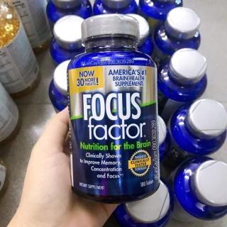 Viên Uống Focus Factor Nutrition For The Brain Của Mỹ 180 viên thumbnail