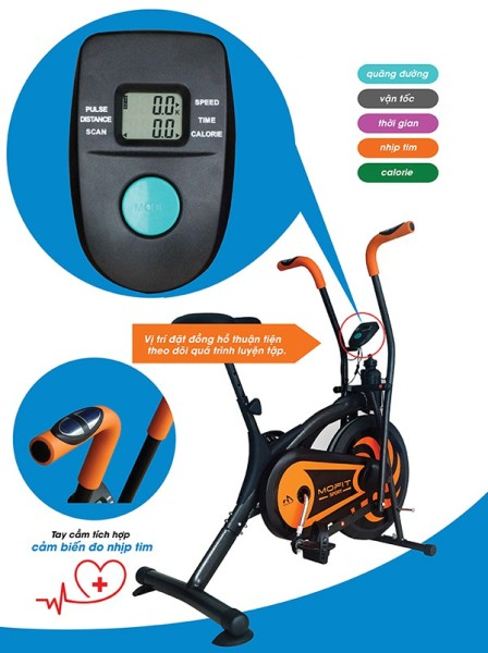 Bảng giá Xe đạp tập thể dục, xe đạp toàn thân Mofit MO-2060