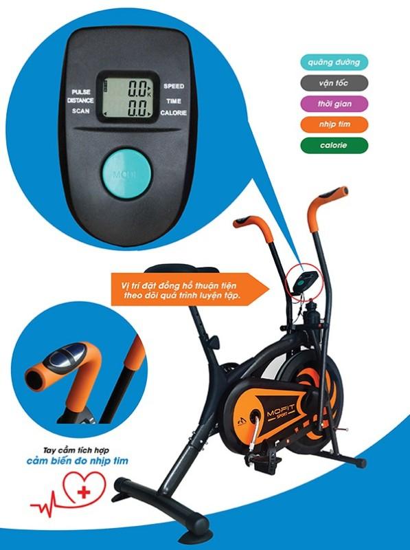 Xe đạp tập thể dục, xe đạp toàn thân Mofit MO-2060