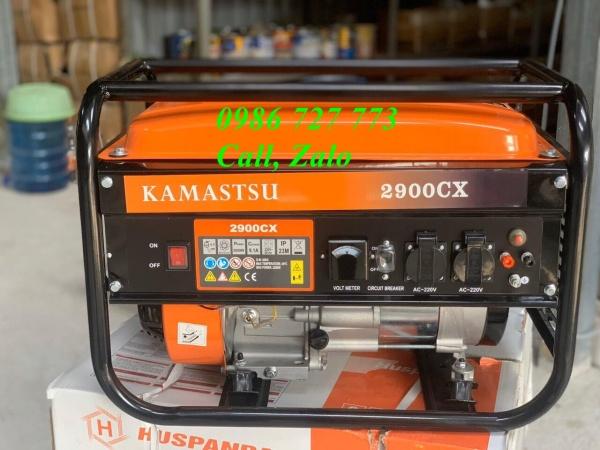 Máy phát điện kamastsu 2900CX, máy phát điện 2kw, máy phát điện gia đình