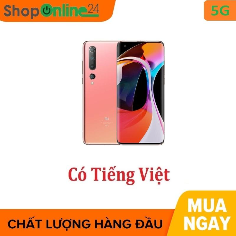 Điện thoại Xiaomi Mi 10 5G 12/256Gb - Hàng nhập khẩu