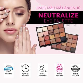 Bảng Phấn Mắt 20 Màu Dạng Lì Ánh Nhũ Australis Neutralize Nude Eyeshadow Palette-Hàng Úc Chính Hãng thumbnail