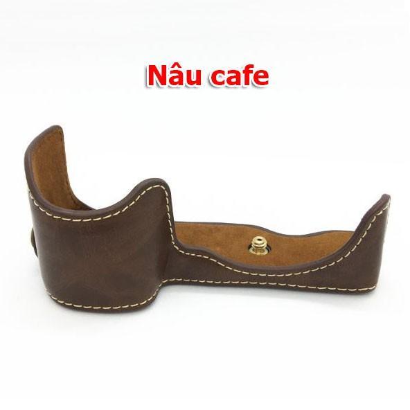 BAO DA MÁY ẢNH HALF CASE CHO SONY A6400
