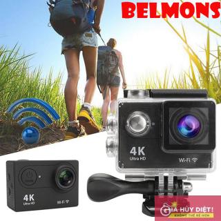 Camera hành trình chống nước 4K SPORT Ultra HD DV, Camera Hành Trình 4K Sports Cao Cấp Nhỏ Gọn Lấy Nét Hd Tự Động Chụp Hình Quay Video Chất Lượng Hd1080 Hình Sắc Nét.Bảo Hành 1 Đổi 1 Toàn Quốc Bởi Belmons thumbnail