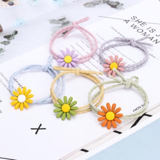 Dây cột tóc, buộc tóc hoa cúc phong cách hàn quốc dễ thương tabaha thumbnail