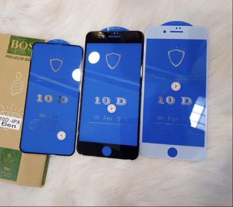 Giá Kính Cường Lực Iphone 10D Mới Nhất Full Màn Cho Iphone 6 6s 6Plus 6sPlus 7plus 8Plus X
