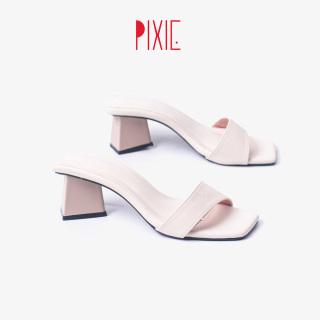 Guốc Cao Gót 5cm Bản Ngang Pixie X733 thumbnail