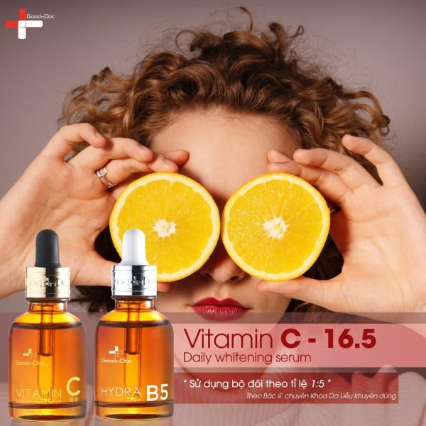SERUM B5 GOODNDOC dưỡng ẩm phục hồi, GOODNDOC B5 làm sáng da chống lão hóa GOODnDOC HYDRA B5 30ml chính hãng