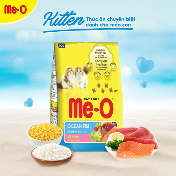 Thức ăn cho mèo vị cá ngừ Me-O / Me-0 / MeO Tuna 1,2kg