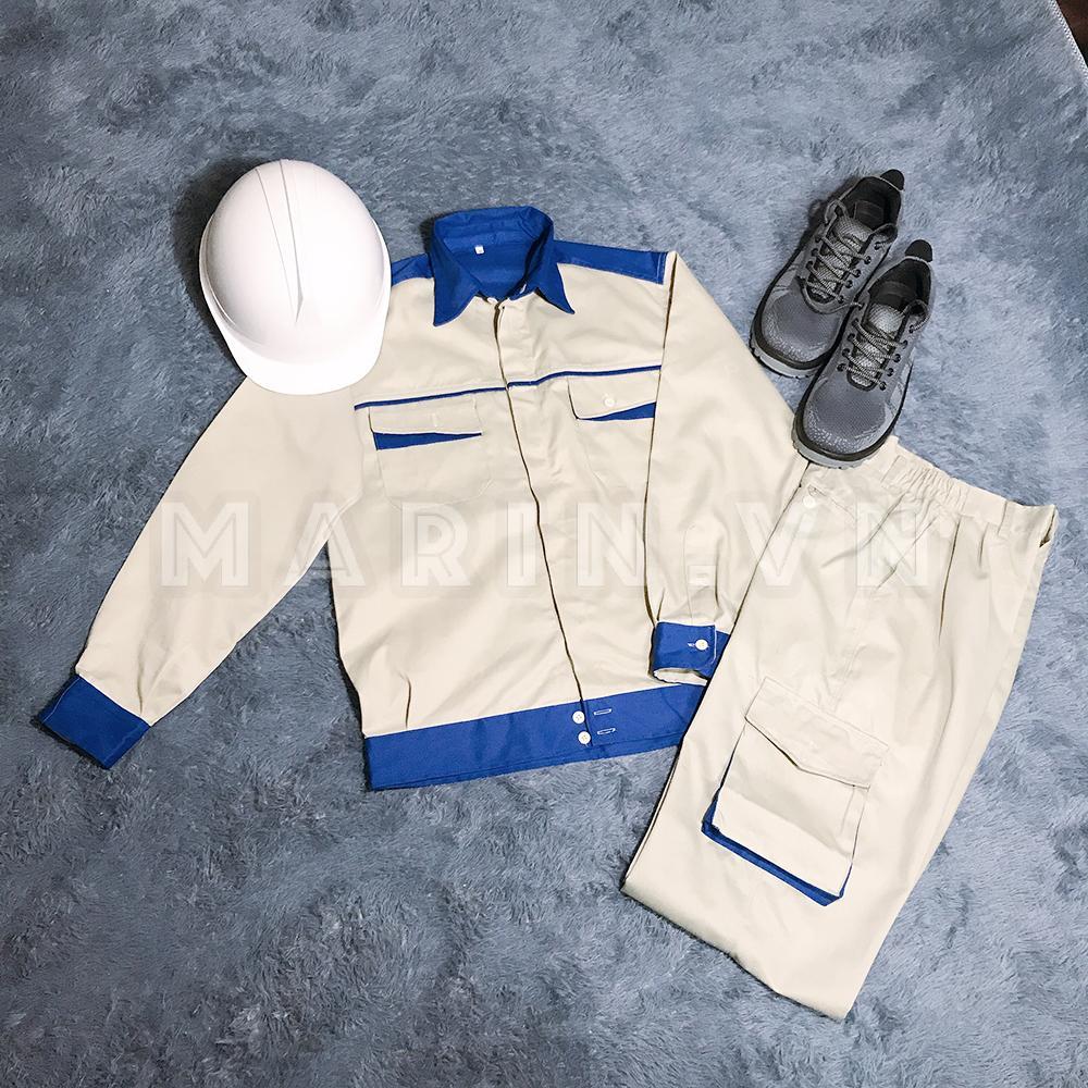 Quần áo bảo hộ lao động kỹ sư kaki liên doanh loại 1