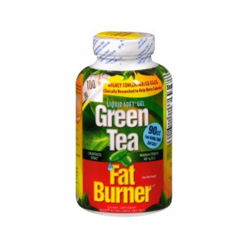 VIÊN UỐNG GIẢM CÂN TRÀ XANH MỸ GREEN TEA FAT BURNER (200 VIÊN)