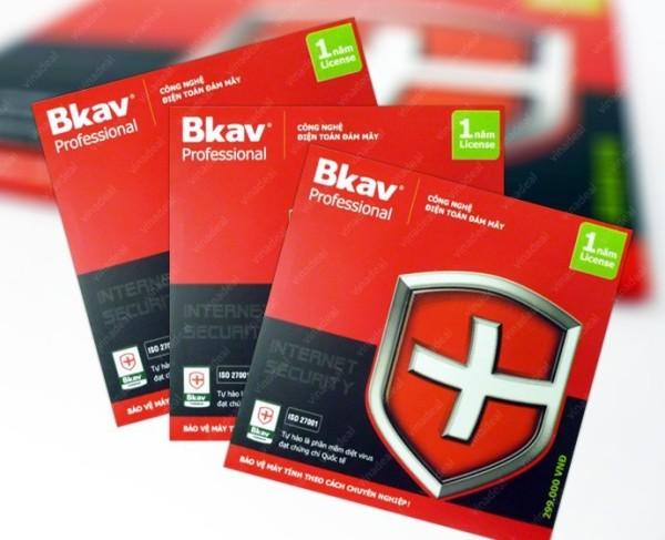 Bảng giá Phần mềm diệt virut BKAV - BKAVPRO Phong Vũ