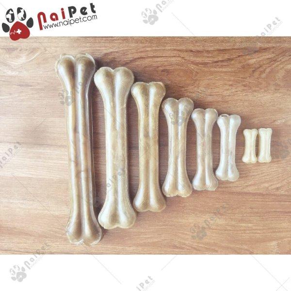 Đồ Ăn Vặt Xương Canxi Da Bò Cho Chó Gặm Làm Sạch Răng Giúp Răng Chắc Khỏe