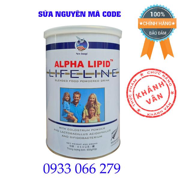 Sữa Non Alpha Lipid 450g Của New Zeland Bữa Sáng Kháng Thể