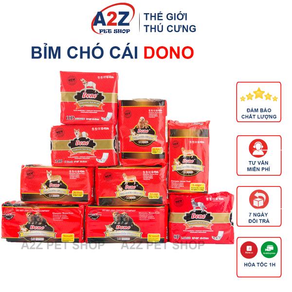 Bỉm Dono - Bỉm Nhập Khẩu Chất Lượng Cao Dành Cho Chó Cái (Bịch)