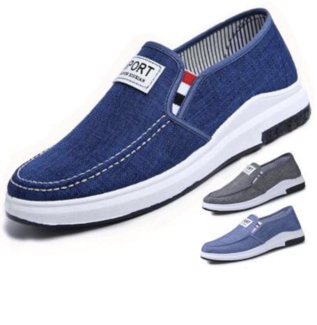 Giày mọi, giày lười - giày mọi thể thao vải jean thời trang Hàn Quốc giá rẻ