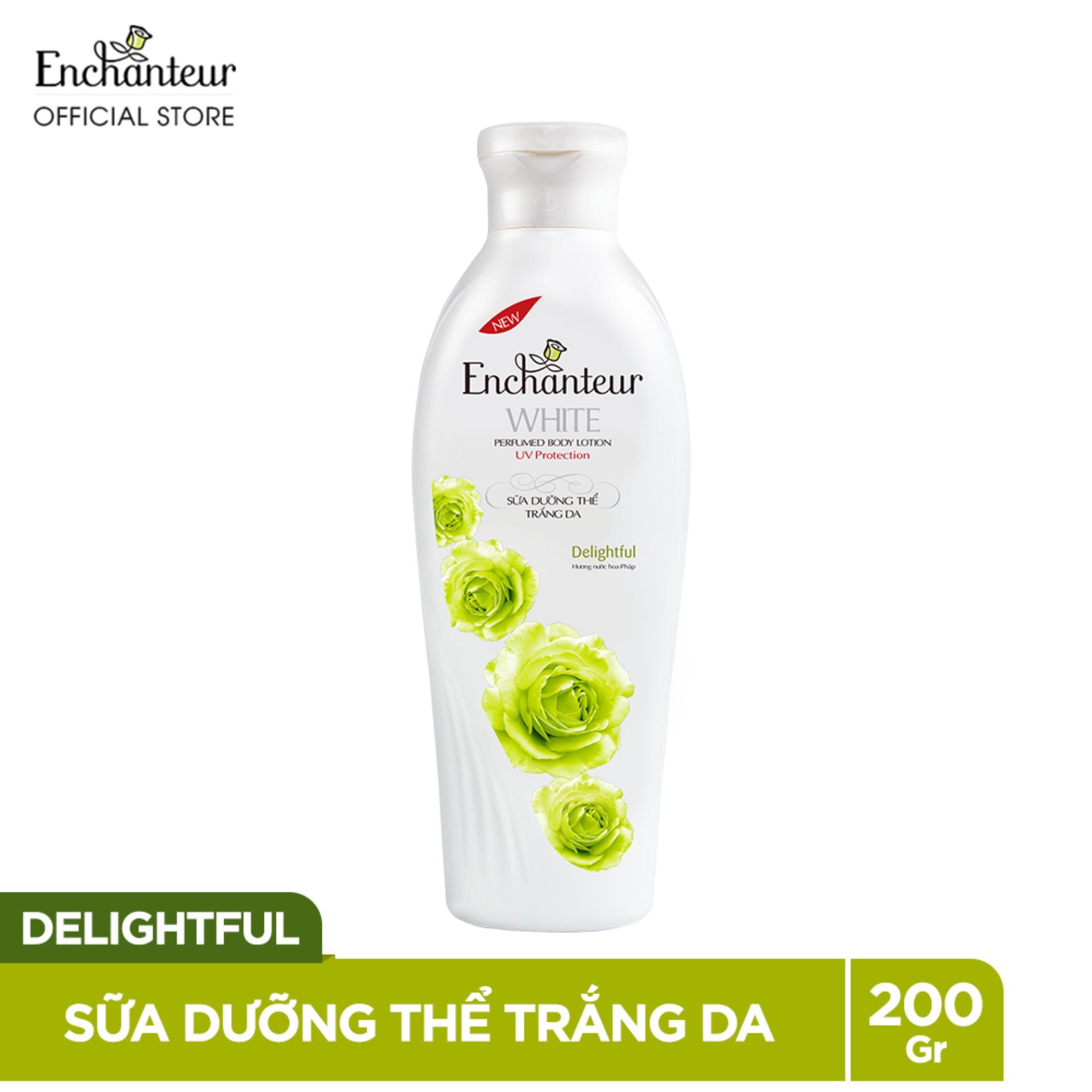 Enchanteur sữa dưỡng thể trắng da Delightful 200g chính hãng