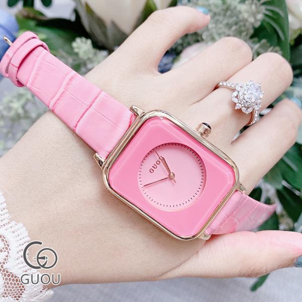 Nơi bán Đồng hồ Nữ GUOU NACHI Dây Mềm Mại đeo rất êm tay - Kiểu Dáng Apple Watch 40mm - Đồng hồ nữ chống nước, Đồng hồ nữ hàn quốc, Đồng hồ nữ kính sapphire, Đẹp,Sang trọng,Đẳng cấp, Bền, Giá Sốc, Đồng hồ nữ đẹp