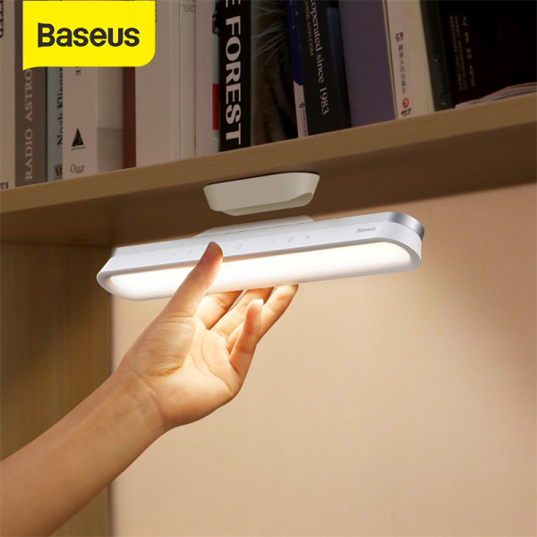 Baseus Mini Magnetic LED Lamp Hanging USB Table Night Light Rotatable  Wardrobe USB Lamp Stepless Dimming USB Chargeable Desk Lamp